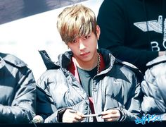 daehyun why is your face so!
