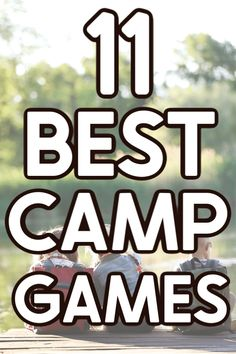 Fun Camp Games, Camping Games For Adults, Summer Camp Games, Summer Camp Activities, Outdoor Games For Kids, Youth Activities, Therapy Activities, Rv Games, Party Games
