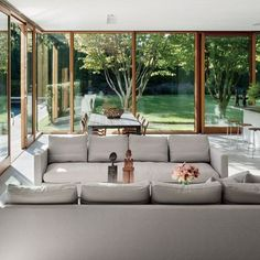 Tod Williams and Billie Tsien Design a Modernist Home in the Hamptons : Architectural Digest Minimalism Interior, House Design, Living Space Decor, Hamptons House, Interior Design, House, Home, Home Decor Styles, Home Decor