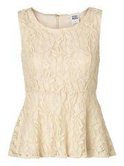 NEW GLITTER LACE S/L TOP #top #lace @Veronica MODA
