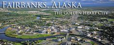 Fairbanks, Alaska in middle of the state, has the biggest range of cold and hot, about -60 to 100+