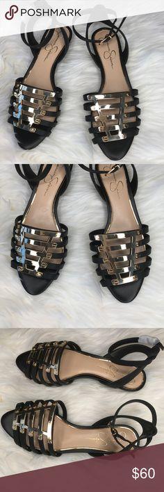 Jessica Simpson Women's Flat Sandals 7.5M NWOT. Perfect Sandals for the wardrobe. Jessica Simpson Shoes Sandals