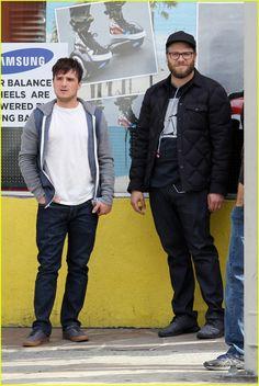 Seth Rogen & Josh Hutcherson Start Filming 'Future Man' Series