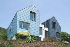 Fibre Cement Cladding, Roof Cladding, Townhouse, Multi Story Building, Fiber, Gallery, Outdoor Decor, Spaces, Studio