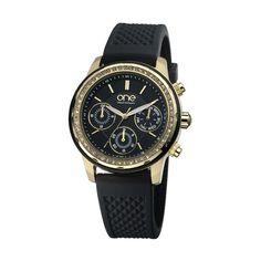Para além de marcar as horas, Insight da One é um relógio que vai marcar a diferença. A atitude glam está bem presente nos cristais encastrados no bezel e nos detalhes do mostrador multifunções. Vai agradar aos sentidos de mulheres sofisticadas que procuram o requinte contemporâneo e um uso prático do bracelete em silicone com relevo de padrão escamado. | Relógio e Jóias Bluebird