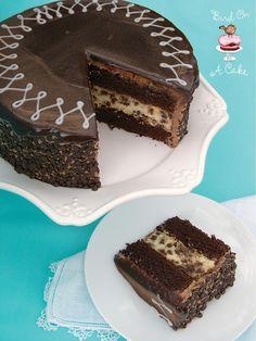 Chocolate Chip Cheesecake Cake - Interesting!