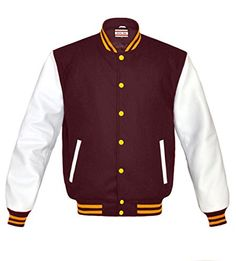 New Trending Outerwear: Superb Genuine Leather Sleeve Letterman College Varsity Women Wool Jackets. Superb Genuine Leather Sleeve Letterman College Varsity Women Wool Jackets  Special Offer: $99.99  188 Reviews A fashionable and stylish eye-catching jacket made from high quality materials, designed and created with the highest attention to details. -Style : Retro Letterman Jacket /...