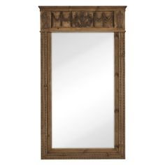 Majestic Extra Large Decorative Floor Leaner Wall Mirror - 2540-B