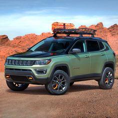 Jeep Reveals Grand Cherokee, Wrangler, Compass Concepts for 2017 Easter Jeep Safari - Four Wheeler Lifted Jeep Cherokee, Jeep Cherokee Trailhawk, Jeep Grand Cherokee, Jeep Trailhawk, Cherokee Srt8, Easter Jeep Safari, Safari Jeep, Jeep Concept, Concept Cars