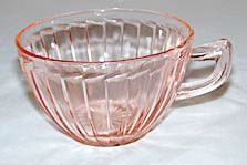 Depression Glass - Jeannette - Sierra / Pinwheel - Pink Cups - Lot of 2 Fostoria Glassware, Antique Glassware, Pink Dishes, Old Glass Bottles, Pink Cups, Imperial Glass, Vaseline Glass, Pink Depression Glass, Indiana Glass
