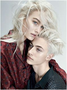 Daisy and Lucky Blue Smith as Helen and Mark Blackthorn