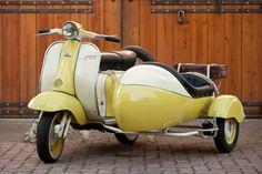 1958Lambretta TV 175 Side-car