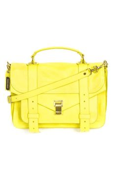 Love the Proenza Schouler PS1 C-1 Medium Lux Leather Bag on Wantering | Mellow Yellow Fashion | womens leather bag #womensleatherbag #fashion #womenshandbag #womenncrossbodybag #style #womenssatchel #womensstyle #womensfashion #style #fashion #GIF #gif #gifs #fashiongifs #proenzaschouler #wantering http://www.wantering.com/womens-clothing-item/ps1-c-1-medium-lux-leather-bag/afq2l/