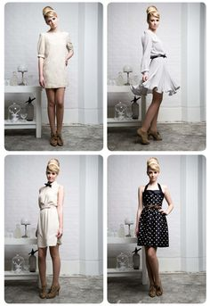 "Juliette Hogan's winter collection entitled ""The Morning After the Night Before"". Love the collection!"