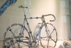 close-up spanner bike, pinned by Ton van der Veer
