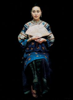 Chen Yifei ~ Kínai Romantikus realizmus festő   Tutt'Art @   Pittura * Scultura * Poesia * Musica  