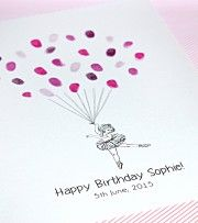 How to make a thumbprint guest book