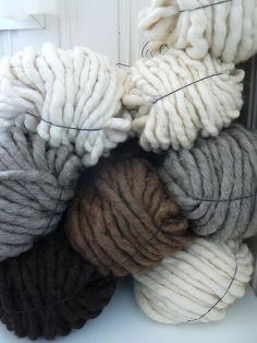 Chunky wool!