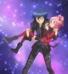 Amuto!! Amu x Ikuto  shugo chara   anime
