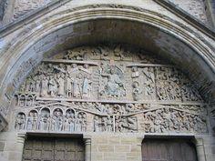 Tympan de l'abbatiale de Sainte-Foy de Conques