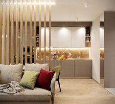 suplini Kitchen Dinning Room, Design Case, Small Apartments, My House, Modern Design, House Design, Living Room, Interior Design, Wall