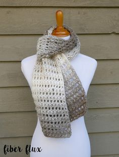 Fiber Flux: Free Crochet Pattern...Tea Leaves Scarf!
