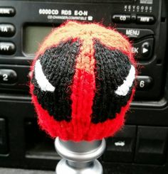 Check out this item in my Etsy shop https://www.etsy.com/uk/listing/290268971/deadpool-style-gear-knob-beanie-hat
