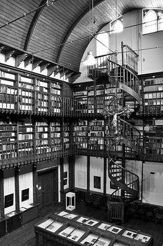 Kloosterbibliotheek Wittem - Cloister library, Wittem, Limburg