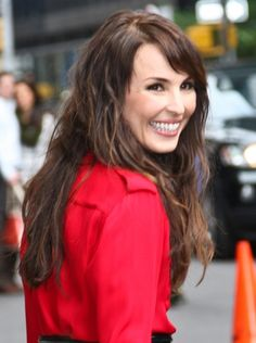 Noomi Rapace rocks enviably thick hair