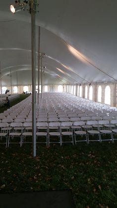 60 x 180 tent for Senator Rod Gram's Funeral in Crown, MN