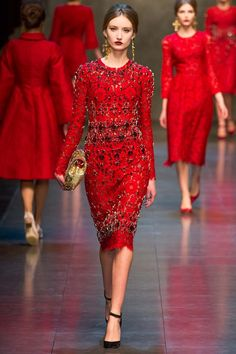 Dolce & Gabbana Ready-to-Wear A/W 2013 gallery - Vogue Australia