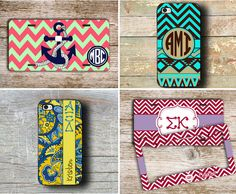 Make your sorority Christmas shopping merry & bright with these sorority sugar personal FAVE gift picks from PREPPY CENTRAL: Monogram Car Tag ♥ Monogram iPhone Case ♥ Personalized Sorority iPhone Case ♥ Personalized License Plate Frame! ☀ SEE MORE sweet on greek gifties on my NEW shopping page: ☆ GREEK GIRL HOLIDAY GIFT GUIDE! ☆ http://sororitysugar.tumblr.com/holidaygiftguide https://www.etsy.com/shop/preppycentral