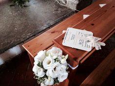 Flowers inside church !