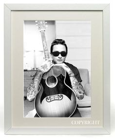 Johnny Cash Tattooed Original Printed Art by Jay Adams, perfect for the home.
