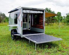Enclosed Trailer Camper, Cargo Trailer Camper Conversion, Diy Camper Trailer, Trailer Build, Cargo Trailers, Utility Trailer, 5x8 Trailer, Converted Cargo Trailer, Overland Trailer