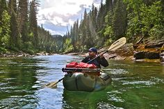 In which I take a packrafting trip in search of wild trout