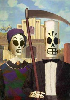 grim fandango <3 Best game, ever!