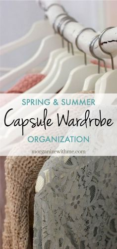Spring and Summer Capsule Wardrobe 2018 - how to build a minimalist wardrobe, declutter your closet and find your personal style. Less IS more! #capsulewardrobe #minimalistwardrobe #fashion #outfits