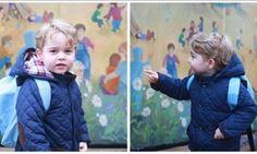 ΦΩΤΟ: Πρώτη μέρα στο σχολείο για τον πρίγκιπα Τζόρτζ! Τον συνόδευσαν οι γονείς του