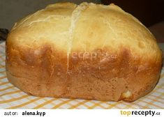 Dobrý toustový chléb recept - TopRecepty.cz Bread Machine Recipes, Food, Eten, Meals, Diet