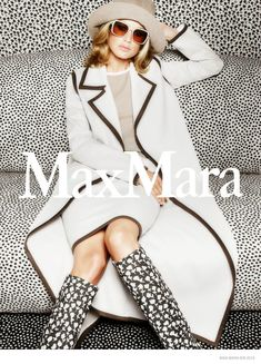 YSL Spring 2015 Ads  | Carolyn Murphy Has Us Seeing Spots in Max Mara's Spring '15 Ads