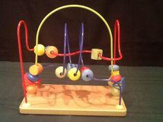 Mini Wooden Bead, Baby, Boys & Girls Rollercoaster