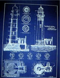 North carolina bodie island lighthouse blueprint plans 20x23 272 incendiary art poems triquarterly books malvernweather Gallery