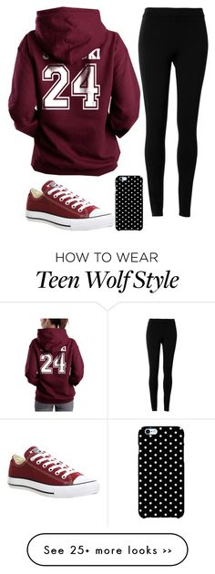 """Outfit #54"" by holdmemani on Polyvore featuring Converse, Max Studio and…"