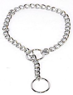 Hamilton Fine Choke Chain Dog Collar, 12-Inch *** Visit the image link more details.