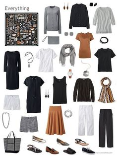12 outfits - july 2017 the vivienne files capsule outfits, fashion capsule, Capsule Wardrobe How To Build A, Capsule Wardrobe Mom, Mom Wardrobe, Capsule Outfits, Fashion Capsule, Travel Wardrobe, Fashion Outfits, Style Fashion, Black Wardrobe