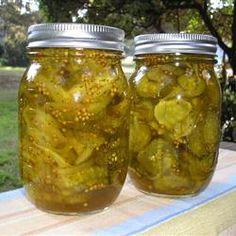 Bread and Butter Pickles I Allrecipes.com