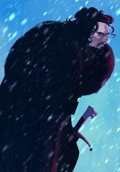 Jon Snow by JaimePosadas