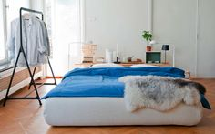 New slipcovers for Ikea beds from Bemz.