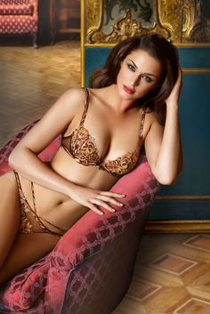 Lise Charmel Lingerie AW2014 'Wild Paradis' Collection